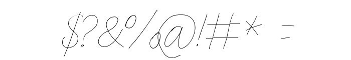 Aka-AcidGR-Slimthin Font OTHER CHARS