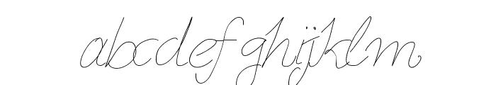 Aka-AcidGR-Slimthin Font LOWERCASE