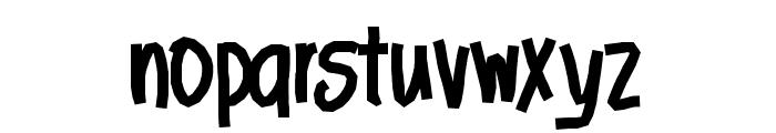 Aka-AcidGR-ThickStick Font LOWERCASE
