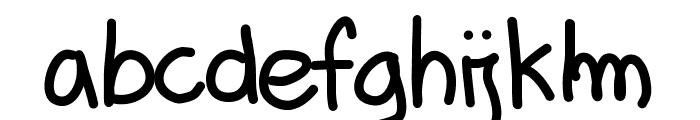 Aka-AcidGR-TotallyPlain Font LOWERCASE
