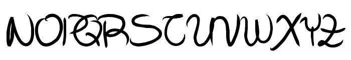 Aka-AcidGROpen Font UPPERCASE