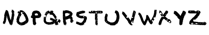 Aka-AcidGRPathetic Font UPPERCASE