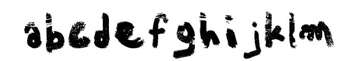 Aka-AcidGRPathetic Font LOWERCASE