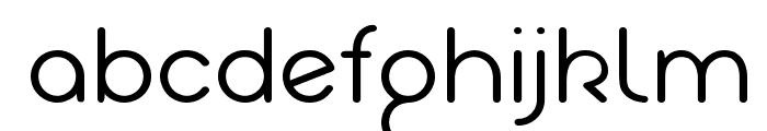 Akaju Light Font LOWERCASE