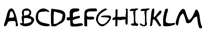 Akbar Font UPPERCASE