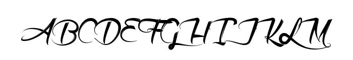 Akhenaton Font UPPERCASE
