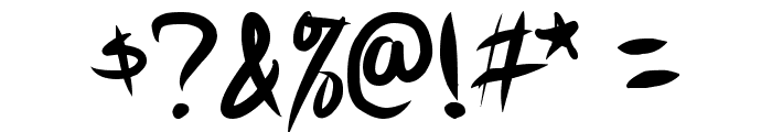 Akiba Punx Font OTHER CHARS