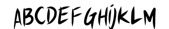 Akiba Punx Font LOWERCASE