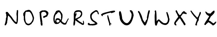 Akila Font UPPERCASE