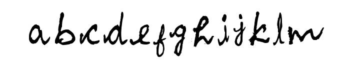 Akila Font LOWERCASE