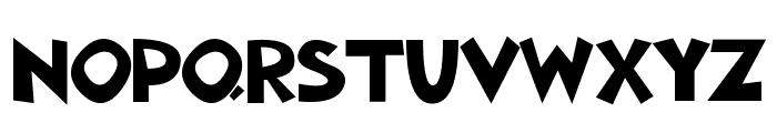 Aklatanic TSO Font UPPERCASE