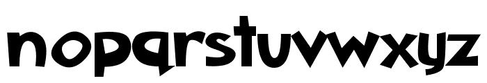 Aklatanic TSO Font LOWERCASE