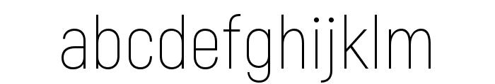 Akrobat-ExtraLight Font LOWERCASE