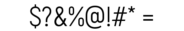 Akrobat-Regular Font OTHER CHARS