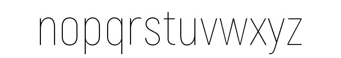 Akrobat-Thin Font LOWERCASE