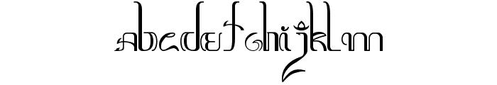 Aksara-Jawa Font UPPERCASE