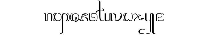 Aksara-Jawa Font LOWERCASE