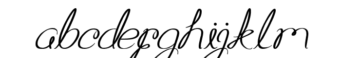 Aku Cinta Kamu Font LOWERCASE