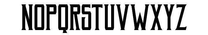 Akura Popo Font UPPERCASE
