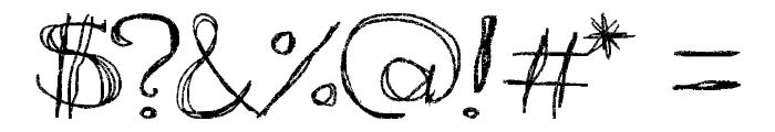 aKa Font OTHER CHARS