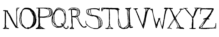 aKa Font UPPERCASE
