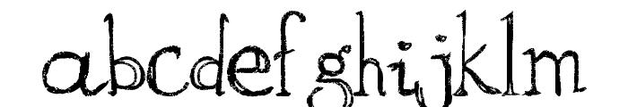 aKa Font LOWERCASE