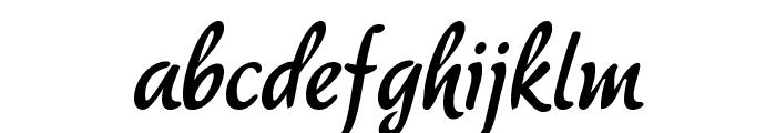 akaDora Font LOWERCASE
