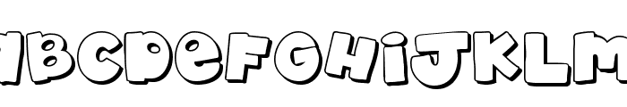 akaDylan Open Font UPPERCASE