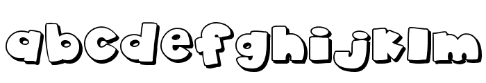 akaDylan Open Font LOWERCASE