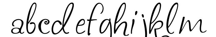 akaFrivolity Font LOWERCASE