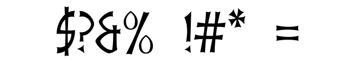 akaIndic Font OTHER CHARS