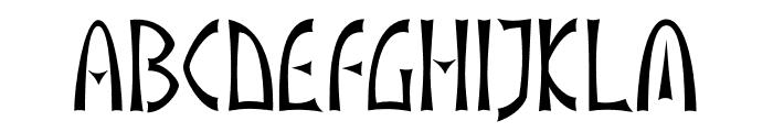 akaIndic Font UPPERCASE