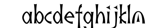 akaIndic Font LOWERCASE