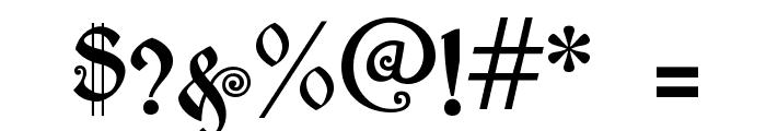 akaPotsley Font OTHER CHARS