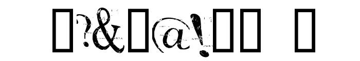 akoom Font OTHER CHARS