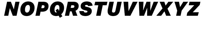Aktiv Grotesk Black Italic Font
