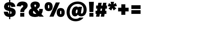Aktiv Grotesk Black Font OTHER CHARS