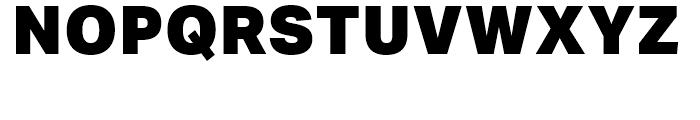 Aktiv Grotesk Black Font UPPERCASE