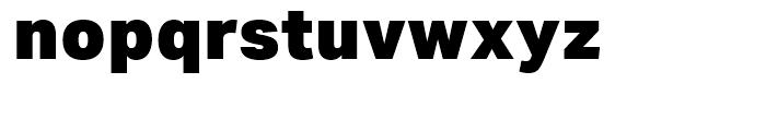 Aktiv Grotesk Black Font LOWERCASE