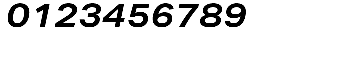 Aktiv Grotesk Extended Bold Italic Font OTHER CHARS