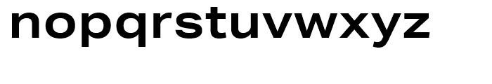 Aktiv Grotesk Extended Bold Font LOWERCASE