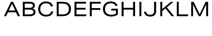 Aktiv Grotesk Extended Regular Font UPPERCASE