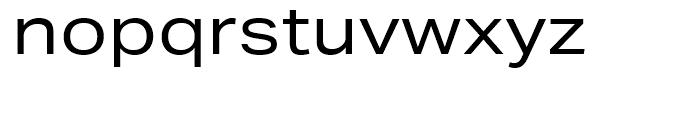 Aktiv Grotesk Extended Regular Font LOWERCASE