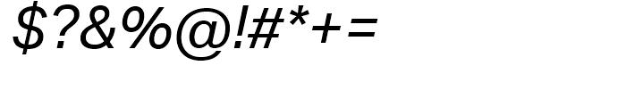 Aktiv Grotesk Italic Font OTHER CHARS