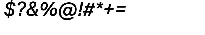 Aktiv Grotesk Medium Italic Font OTHER CHARS