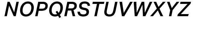 Aktiv Grotesk Medium Italic Font UPPERCASE