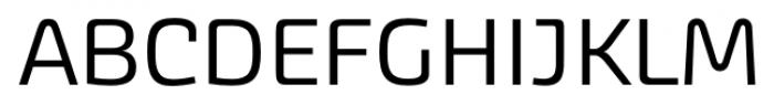 Akceler alt A Regular Font UPPERCASE