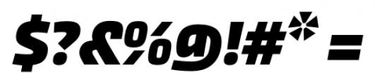 Akceler alt B Bold Font OTHER CHARS