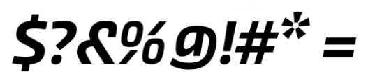 Akceler alt B Medium Font OTHER CHARS