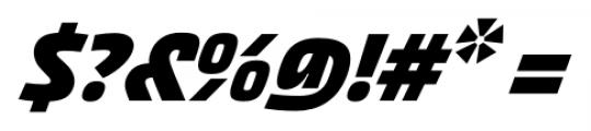 Akceler alt C Bold Font OTHER CHARS